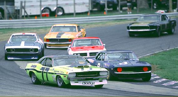 Tony Adamowicz 1970 Trans Am Dodge Challenger