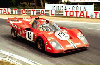 Second Fastest Car In The World >> Tony Adamowicz, 1971 Le Mans, Ferrari 512M